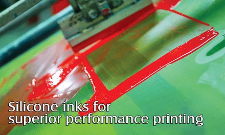 Silicone inks for superior performance printing