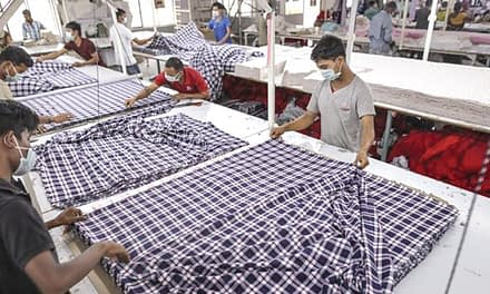 Textile packages gave 16 per cent boost to exports