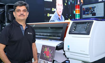 HP reinvents textile printing in India