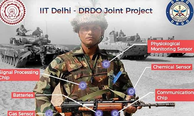 IIT Delhi in collaboration with DRDO developing smart jacket for soldiers