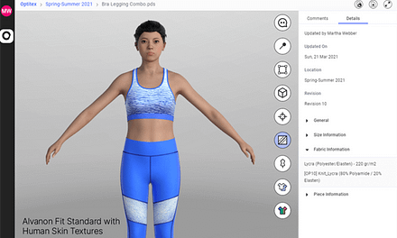 Optitex and Alvanon extend collaboration to make 3D Avatar library