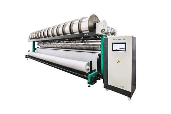 Karl Mayer new TM 3-290″ promotes economic recovery of warp knitting