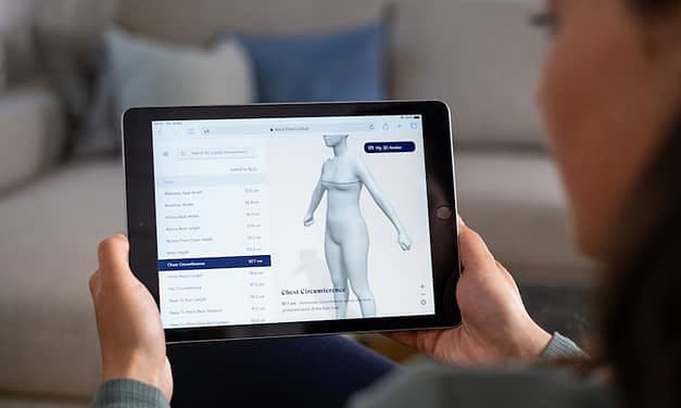21st century knitwear to benefit from smartphone made-to-measure technology for the very first-time